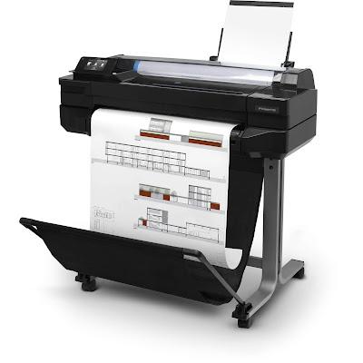 HP Designjet T520ドライバーダウンロード
