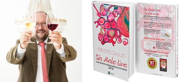 entrevista a Ernesto Gallud director de la Revista Sin mala Uva Guía de Vinos Monovarietales de España.