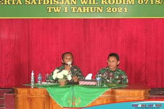 Kumdam IV/Diponegoro Beri Pembekalan Hukum Prajurit Kodim 0718/pati