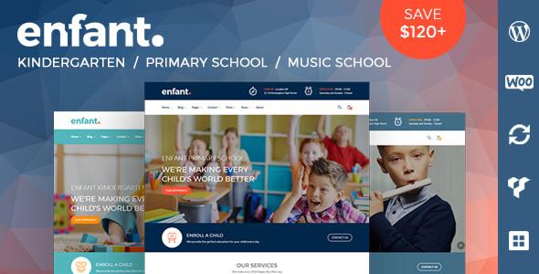 Enfant v2.4 - Chủ đề trường học và mẫu giáo