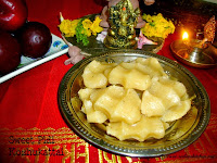 images for Sweet Pidi Kozhukattai Recipe / Sweet Kozhukattai Recipe / Bellam Kudumulu Recipe