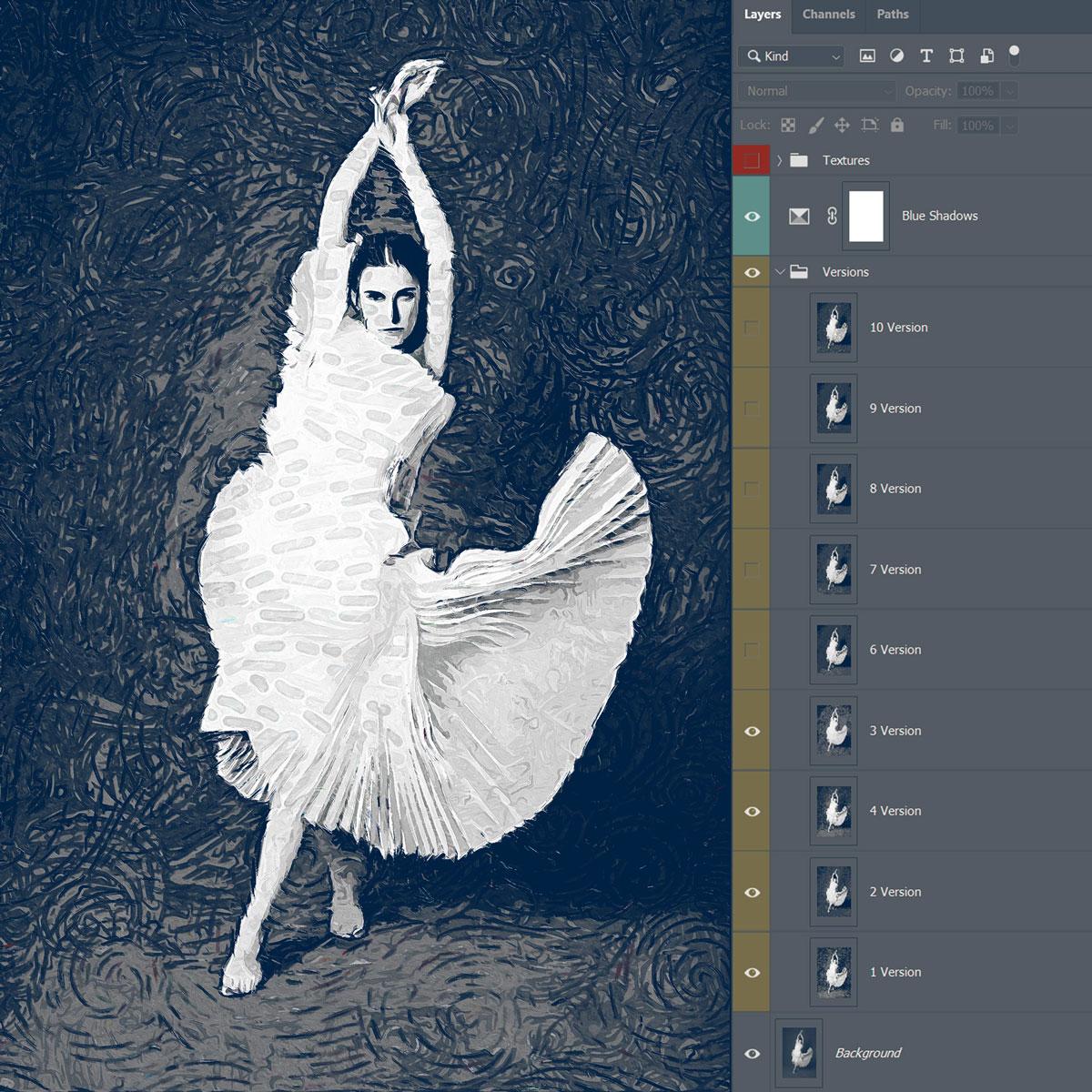 Impressionism Paint FX   Photoshop Add On 2773418