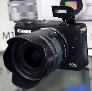 Jual Mirrorless Canon Eos M10 TouchScreen Fullset