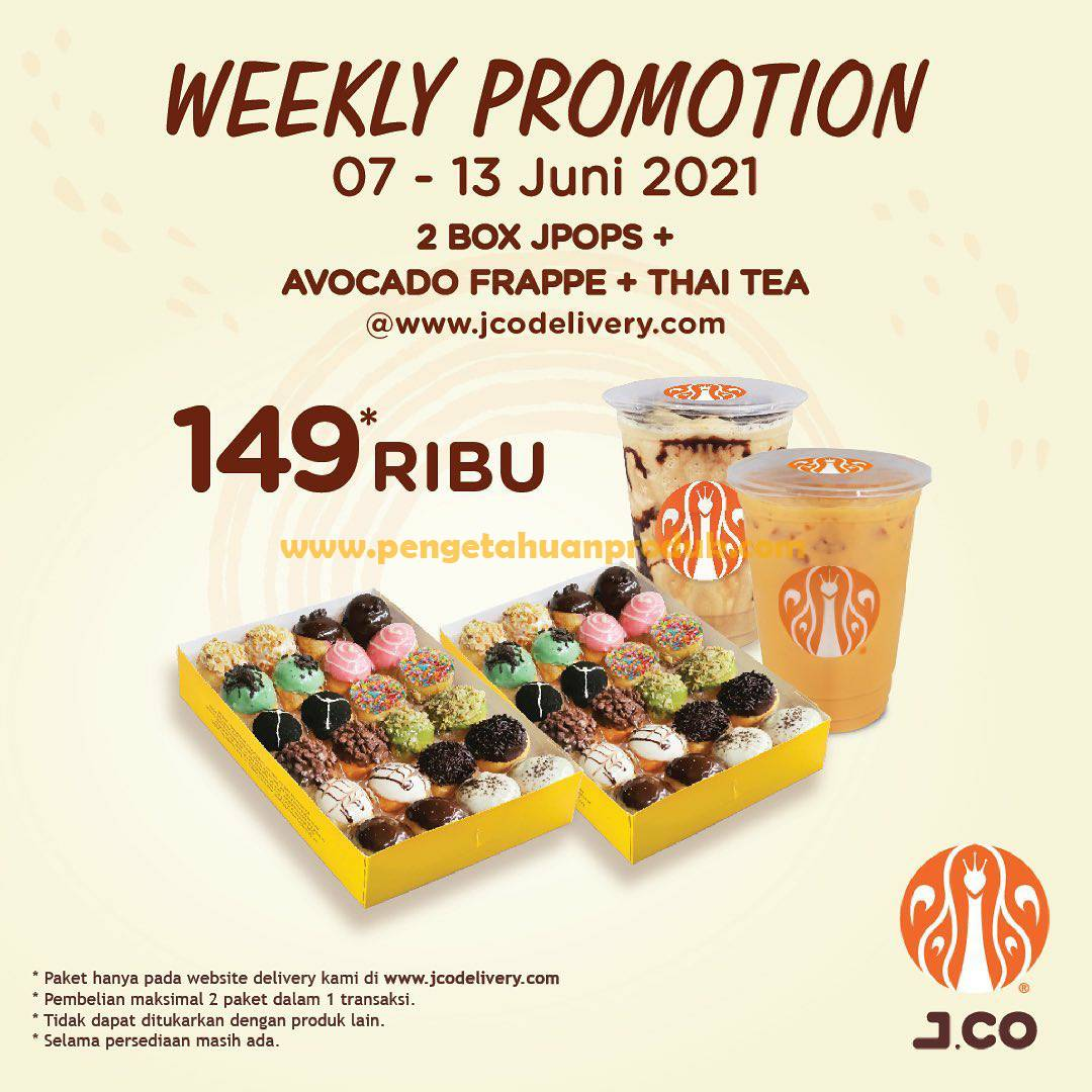 Promo JCO Hari Ini Periode 07 - 13 Juni 2021