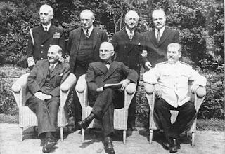 Conferencia de Potsdam 1945