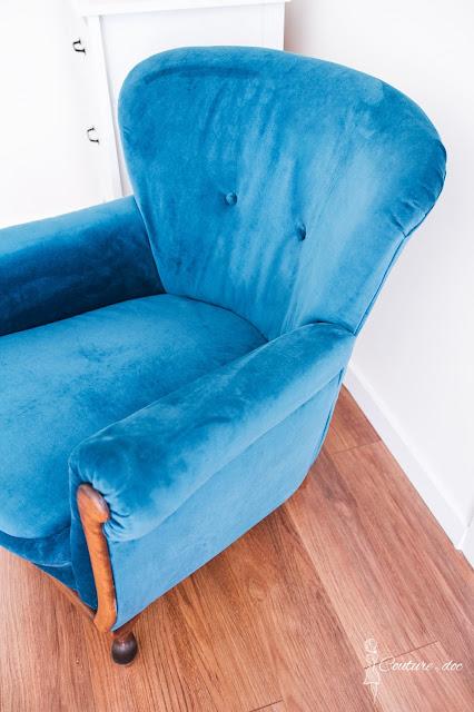 nowa tapicerka, fotel