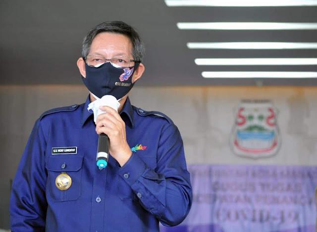 Cegah Covid - 19 ,  Walikota : Tanpa disiplin kita akan gagal melawan penyebaran virus