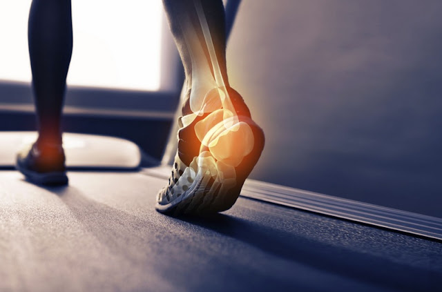 How to get relief from Treadmill ankle pain?
