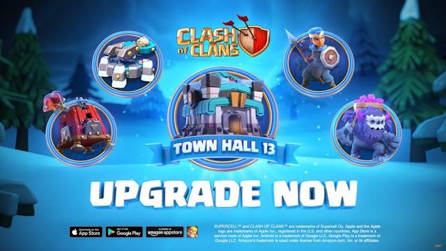 Clash of Clans Baru Update Town Hall, Hero dan masih banyak lagi, Cek ya