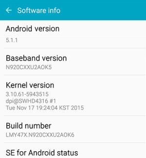 GalaxyNote5Update: Galaxy Note5 SM-N920C Update