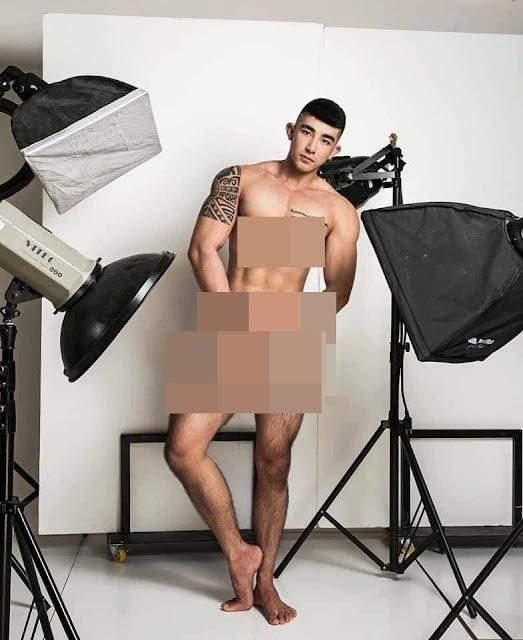 """Ngượng chín mặt với loạt ảnh 18+ đầy 'mời gọi' của """"tú ông"""" Lục Triều Vỹ"""