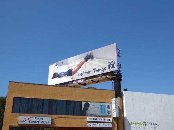 Better Things FX series billboard