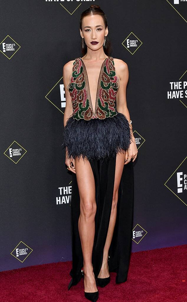 Maggie Q puts skin on show at the 2019 People's Choice Awards