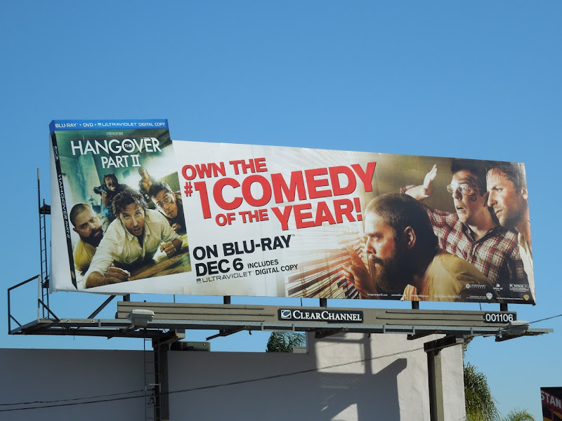 Hangover 2 Bluray billboard