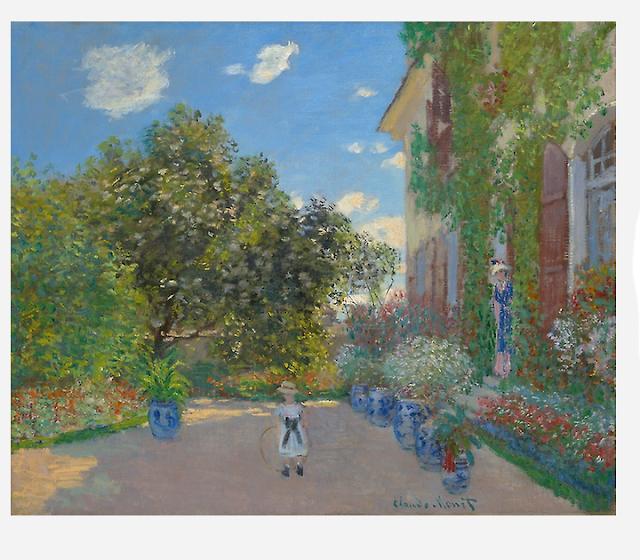 Monet oil painting Argenteuil