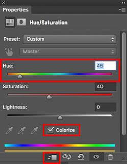 cara membuat efek sinar cahaya matahari di photoshop