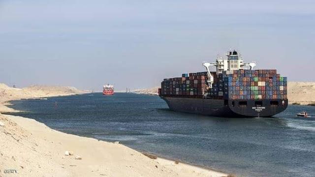 تعد القناة أقصر طرق الشحن بين أوروبا وآسيا