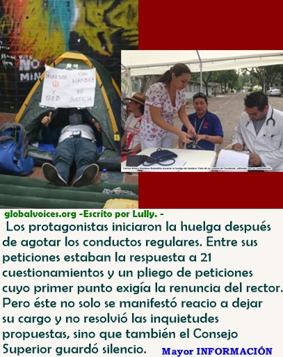 La exitosa huelga de hambre que cambió la cara de la Universidad del Tolima en Colombia