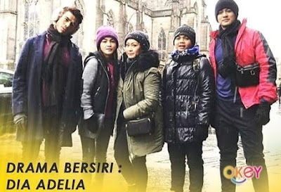 Sinopsis Drama Dia Adelia Lakonan Eyka Farhana & Fadlan Hazim