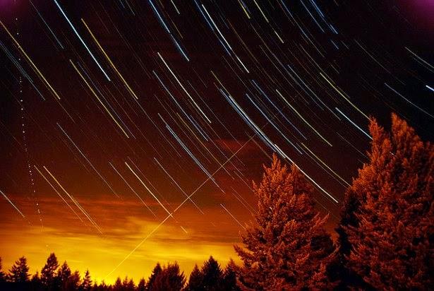 أروع الصور عن مسارات النجوم
