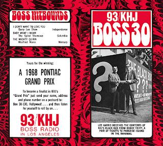 KHJ Boss 30 No. 136 - Bobby Tripp