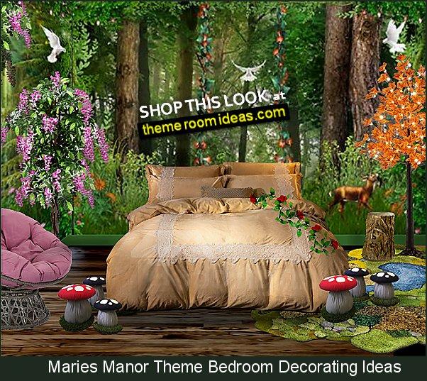 Decorating Theme Bedrooms Maries Manor Woodland Forest Bedroom Ideas Woodland Forest Decor Fairy Forest Animals Decorating Ideas Fairy Woodland Bedrooms Forest Themed Bedding Magical Woodland Fairy