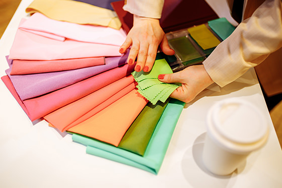 fabric colour chart