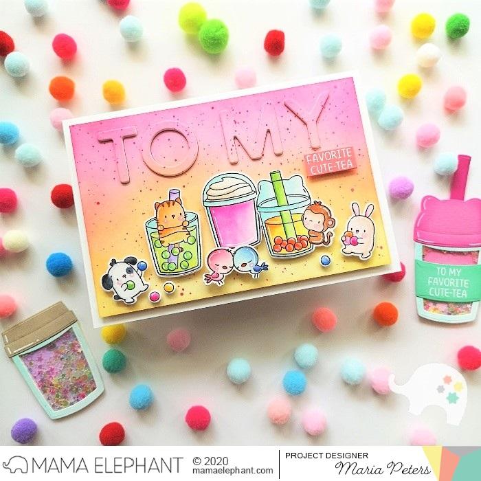 mama elephant | design blog: STAMP HIGHLIGHT: Boba Tea