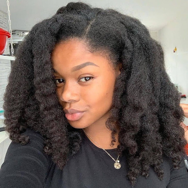 2019 Lovely Natural Hairstyles