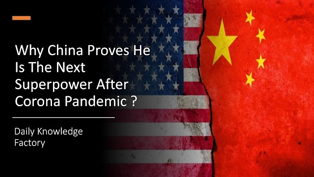 Why China Is Proving He Is The Actual Superpower After Corona Pandemic