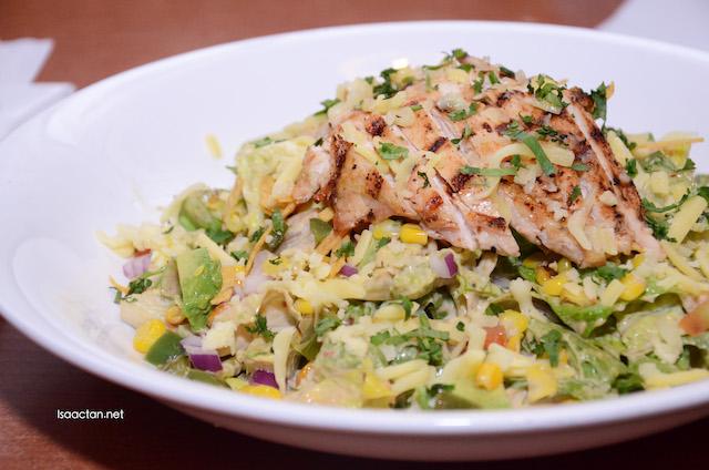 Chipotle Chicken Caesar Salad (RM29.57)