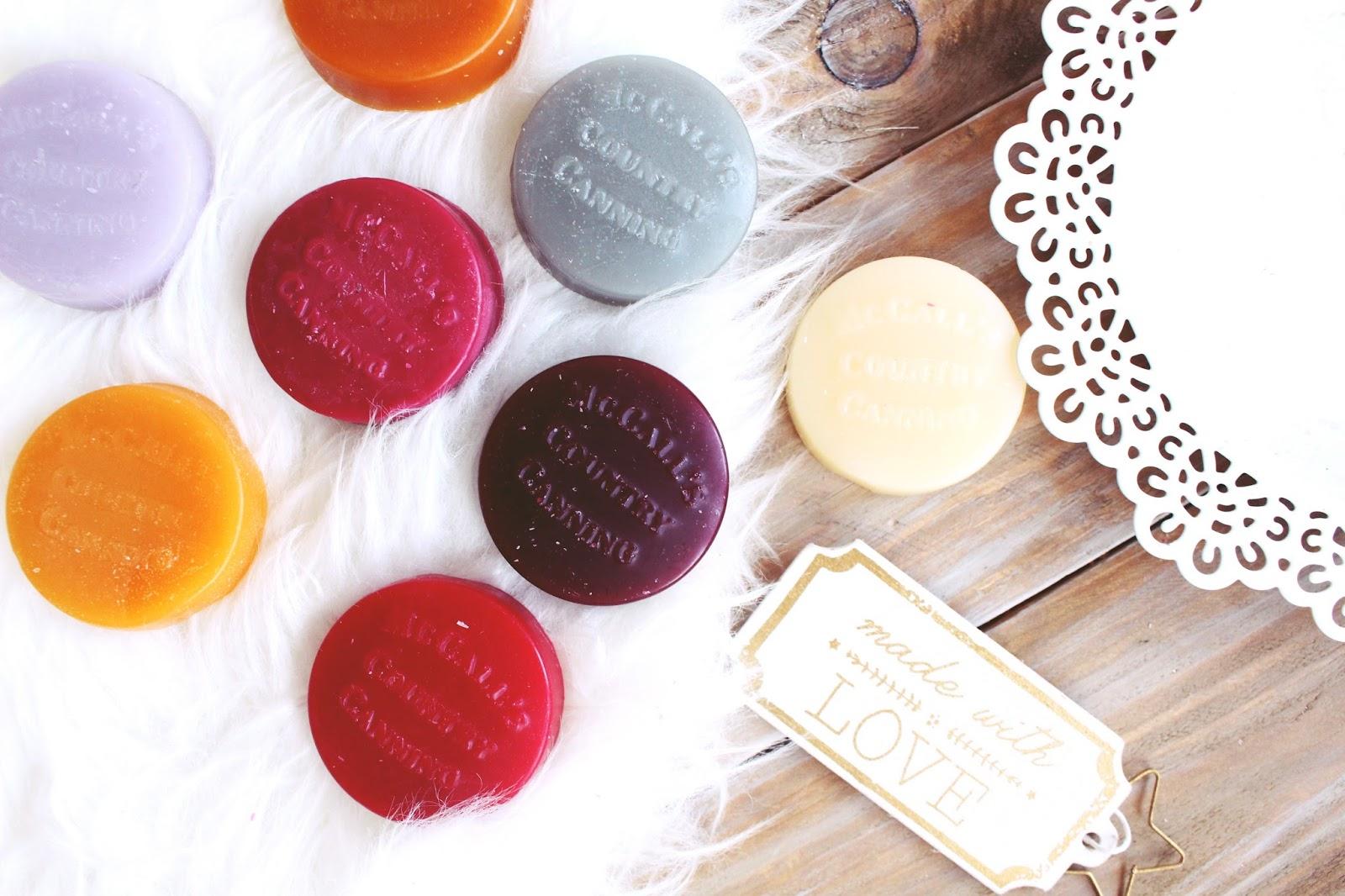 McCall's Nowa marka świec i wosków Tahitian Vanilla, Merlot, S'Mores, Secrets