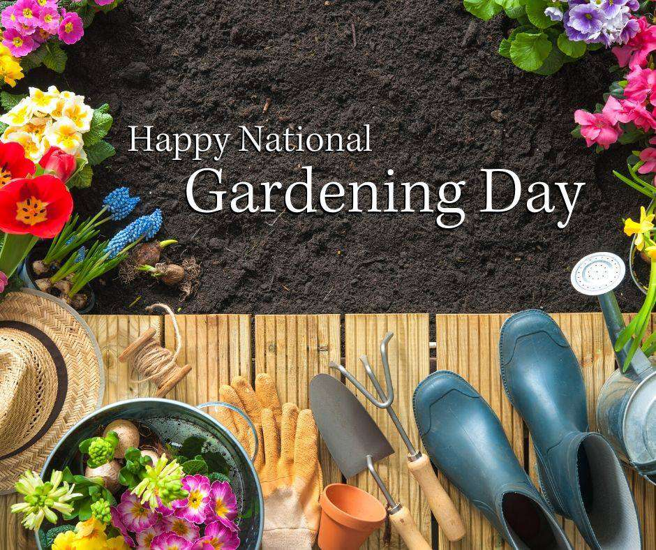 National Gardening Day Wishes For Facebook