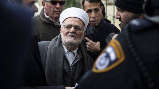 Intelijen Israel Tangkap Imam Besar Masjid Al Aqsa