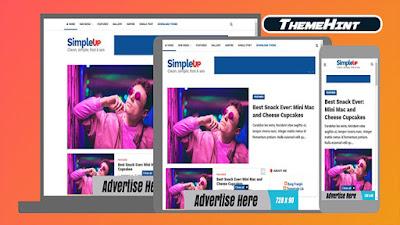 SimpleUP Premium Blogger Template by Kamran Jaisak