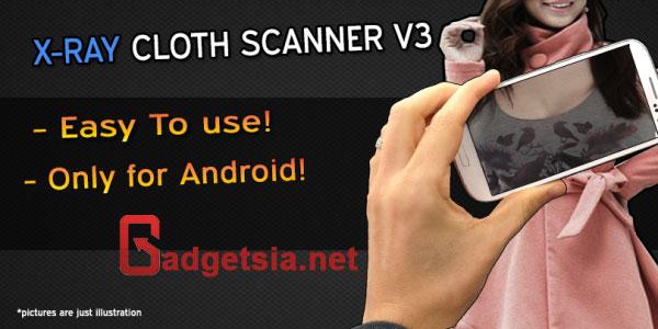 Aplikasi Kamera Tembus Pandang - X-Ray Scanner