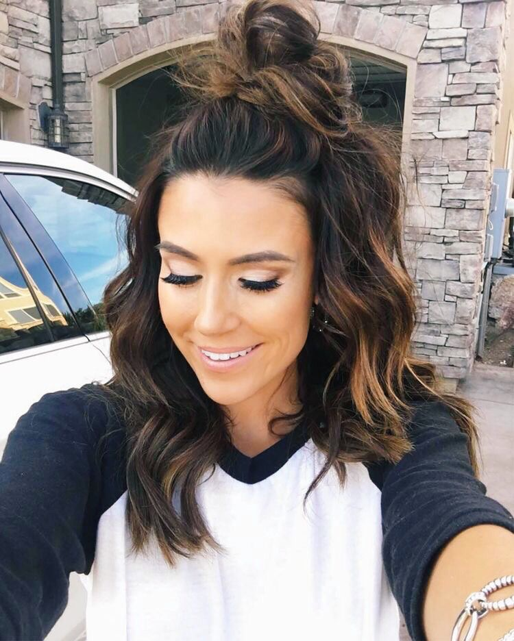 10 Ideas To Spark Your Dark Hair Color Hair Fashion Online