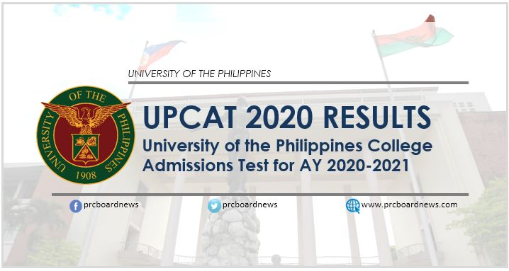 UPCAT 2020 Results: list of passers, updates
