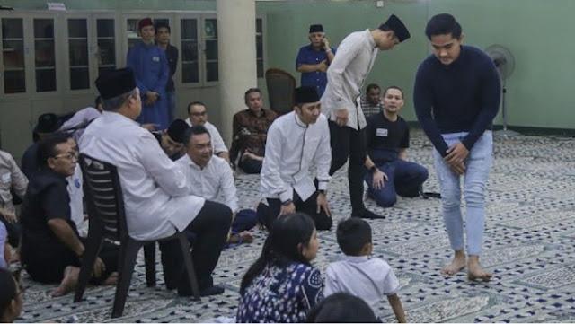 Ditegur Warganet soal Busananya saat Melayat Ani Yudhoyono, Kaesang: Maaf