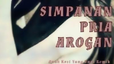 Novel Simpanan Pria Arogan pdf
