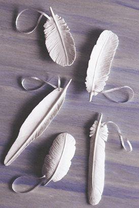 ozdoby z suchej porcelany tutorial