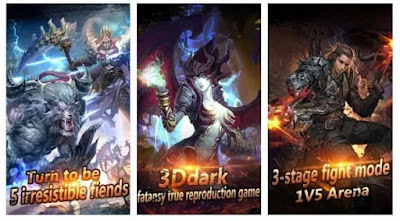 Download Lord of Dark v.1.2.73 Mod APK Full Data (High Damage + Unlimited Health)