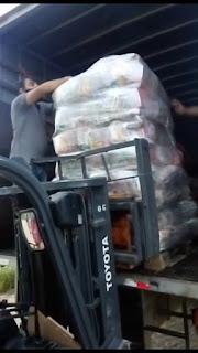 Chegaram em Guarabira mais cestas básicas à 2ª Gerência Regional da Educação e já iniciaram as distribuições entre os alunos da rede estadual
