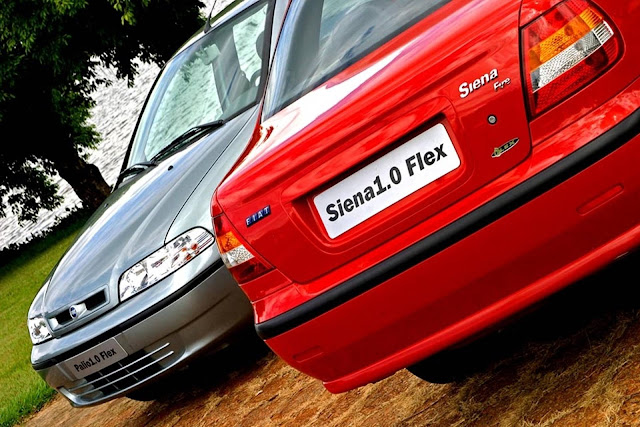 Fiat Palio e Siena 2001