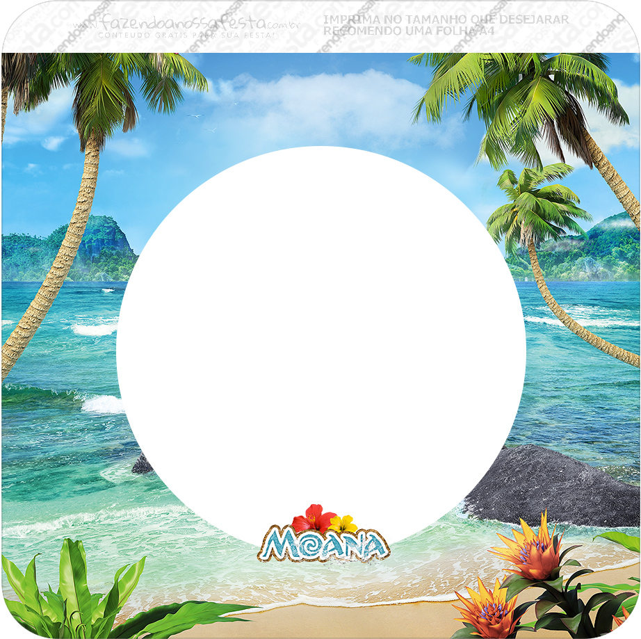Moana Free Party Printables Oh My Fiesta In English