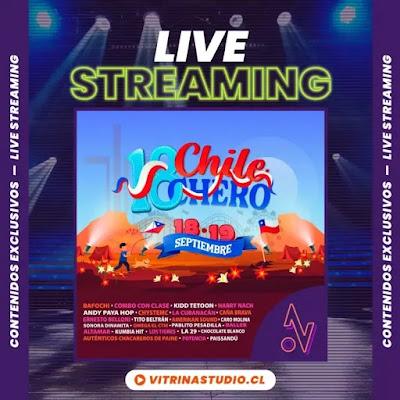 Festival 'Chile 18ero': se suma a las festejos en estas Fiestas Patrias