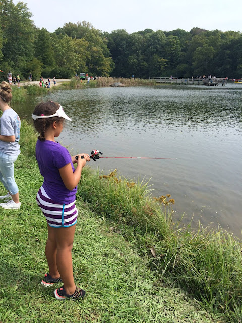 Learn to fish at Hoosier Outdoor Experience.