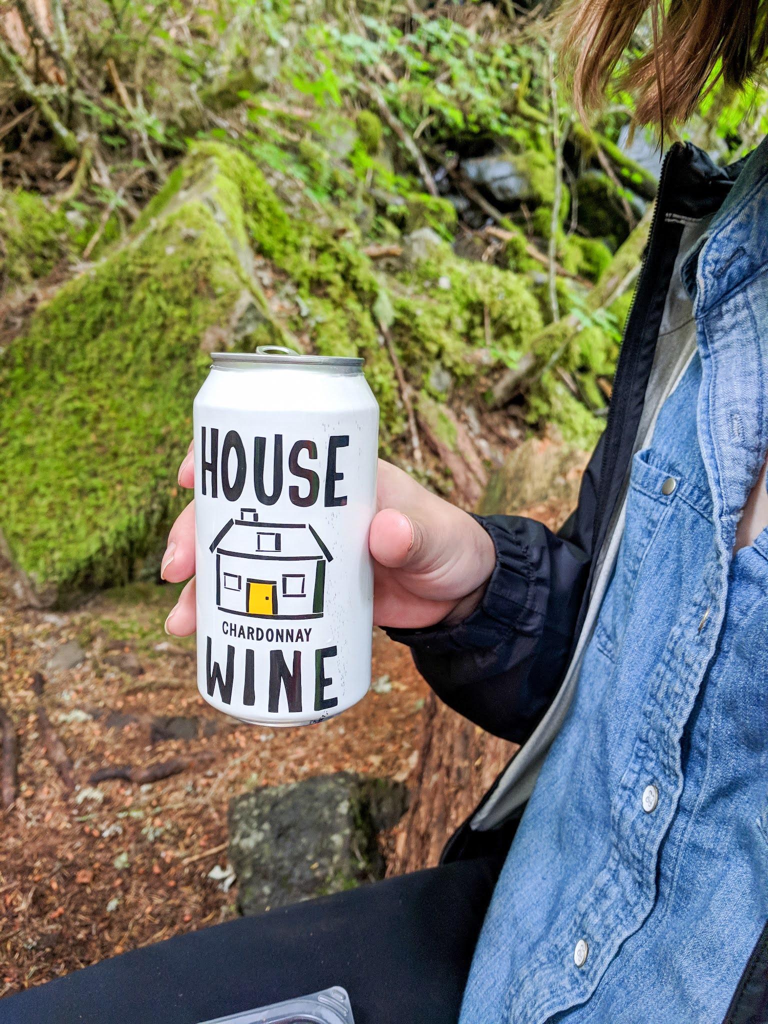 Bring a reweard beverage when hiking