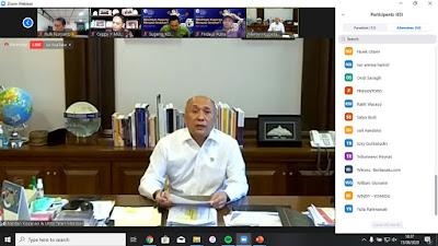 Bapak Teten Masduki, Menteri Koperasi dan UKM Republik Indonesia