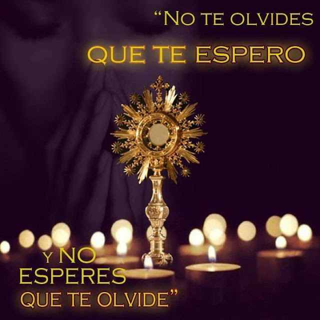 Oración de Jesús Sacramentado